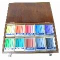 油性粉彩筆50色柚木盒 專家級