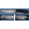 郭常喜的興達刀鋪-小獵刀(A0047)高級柄材,精美護手,積層鋼