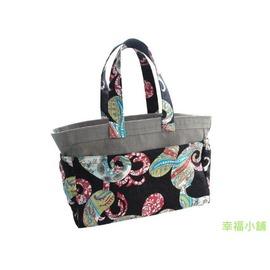 【Chao-U mama 小於媽媽】日本輕質防水CHAO-U小於媽媽包/ 媽媽袋/ 收納袋(日本設計/ 布料=彩妍黑