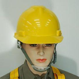 美國MSA V-GARD Helmet工程/ 工業用安全帽(頭後旋鈕)