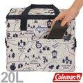 【Coleman】20L Elite水藍保冷袋 釣魚行動冰箱/釣箱/收納冰桶 可搭配冷媒 ★滿額送好禮★CM-6600