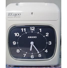 AMANO  BX1800電子式打卡鐘