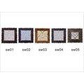■巴里島木框砂岩雕刻花磚,壁磚,浮雕(30x30x3CM)手工花磚