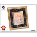 【CHINNEX】文創夜光刺繡佛像 ◎ 相框10x12inch ◎ 觀音菩薩像 ◎紅底布