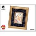 【CHINNEX】文創夜光刺繡熊貓像  ◎ 相框8x10inch◎可愛熊貓(1) ◎ 丹寧提花底布