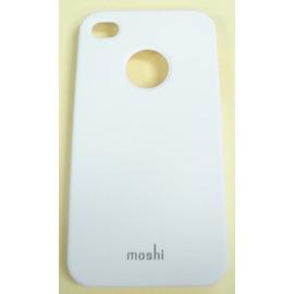 moshi iGlaze 4  iPhone 4專用 超薄時尚保護背殼/ 保護殼/ 保護蓋/ 外殼/ 保護套/ 背蓋/ 手機殼--白色