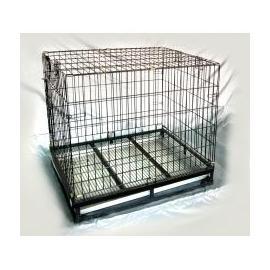 【免運費】靜電烤漆摺疊籠3.5尺*2尺狼犬籠(TA03)附輪子/狗屋/狗籠