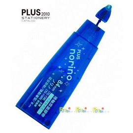 PLUS 雙面膠帶 豆豆彩貼 豆豆貼之替換帶 TG-728R 8.4mm*8M 藍 / 個
