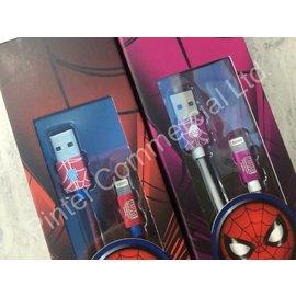 正版認證線 蜘蛛人系列 蘋果專用iPhone&iPad 蘋果快充傳輸線 充電線