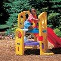 《倩之屋》美國 Little Tikes 攀岩雙滑梯 《高低滑梯的設計,讓孩子體驗不同的速度感》