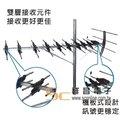 【祥昌電子】【PX 大通】UA-24 鋁合金UHF超強接收數位天線 交期約2-3個工作天