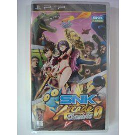 PSP ~ SNK 大型機台遊戲合輯 日文 亞版 亞力士電玩