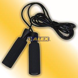 新莊新太陽 ALEX B-19 泡棉 握把 跳繩 握把舒適不易磨手 繩長290CM 特價150