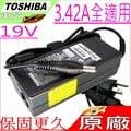 TOSHIBA 19V,3.42A,65W 充電器(原廠)-東芝 A85,L10,L15 L20,L25,M30X,M35X,M45,Z30-A,Z30-B,PA3467E,PA3743E-1AC3,..