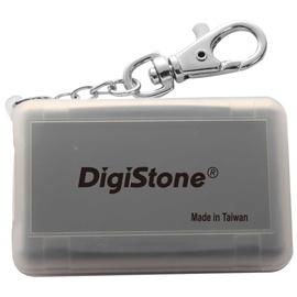 ◆免 ◆DigiStone 防震多 4P記憶卡收納盒 4片裝 -霧透黑色 X1個  !!  耐防震 !!