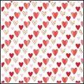 (不可超取) R3902-37- 彩點愛心包裝紙/1包30張入-適合用於卡片、佈置、禮物包裝..等時使用