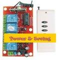 中距離遙控,T型AC85-265V遙控開關模組,4路無線遙控開關電路板,電動門車庫門遙控開關