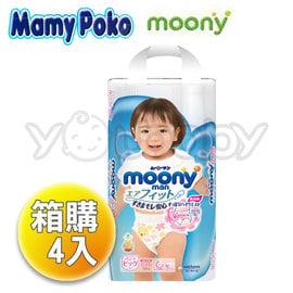 滿意寶寶 moony 日本頂級超薄紙尿褲/ 褲型紙尿布/ 輕巧褲/ 輕巧穿 -女生XL (38x4包)
