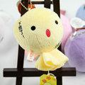 愛之船玩具批發~【Q版晴天娃娃吊飾】~4吋~ 獨家代理歐比邁品牌網路銷售