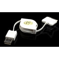 【MuMo】渦捲式伸縮傳輸線 USB 2.0 支援APPLE各型IPad /  IPhone 30PIN接頭的裝置 Line-315