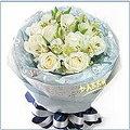 A100 白海芋花束 情人節 生日 特殊節慶  台北花店 黛比花屋