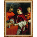 【以羅伊嚴選】全新世界名畫 約40x50公分 拉斐爾Raffaello 0110
