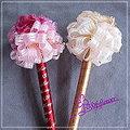 K027 圓滿花簽名筆 一對 台南市花店 婚禮小物
