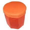 繽紛時尚收納椅(橘色)