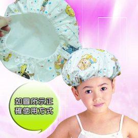PS Mall╭*雙層防水材質布 兒童浴帽【J208】
