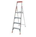 美國知名品牌簡捷梯6呎(進化版), 工作高度達8呎, 鋁梯中的精品