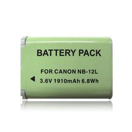 CANON NB-12L /  NB12L 高容量防爆相機電池 Canon PowerShot G1X Mark II /  N100