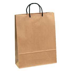 《荷包袋》牛皮紙袋〔大2K-直〕【20入】