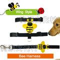 ★DAB 【636F 蜜蜂三分H帶胸背+牽繩組】3公斤以下犬適用