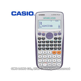 CASIO 計算機 國隆 FX-570ES PLUS 自然顯示型ES系列 工程型計算機_保固一年_開發票