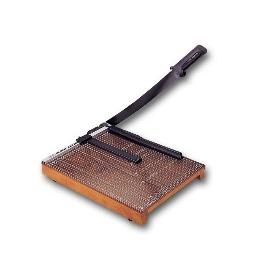 【LIFE-徠福】木製裁紙機 切紙機  NO.302《尺寸:482*381mm;裁紙大小:A3 A4 B5;附壓條》  台