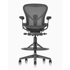 Herman Miller Aeron Stool 高腳椅 全功能人體工學電腦網椅  HAWJOU 豪優 人體工學椅專賣店