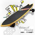 【哈樂維 holiway】台灣製 最新 RSB-SS 三輪衝浪滑板.自走型RSB板(蛇板 雙龍板).極限運動/耐磨止滑佳.易上手/復古藍 FB-079