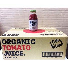 可美特有機蕃茄汁295ml*24瓶/箱