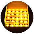 《批發量販100》黃光蠟燭燈/無煙無味LED燈~情人求婚告白婚禮會場佈置/餐廳安全蠟燭