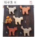 超可愛陶製貓咪造型餅乾磚(B)★台灣設計純手工捏製★手作陶製品Zakka磚