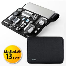[ cocoon ] GRID-IT™ 彈性收納系列13吋筆電包(黑色)可裝MacBook、Ultrabook[ 普羅3C ]