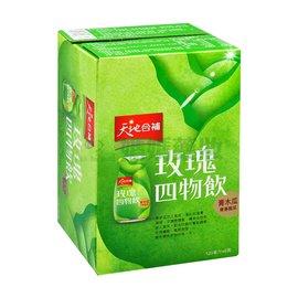 桂格 天地合補 玫瑰四物飲(青木瓜) 120ml*6瓶/盒 X6盒【媽媽藥妝】