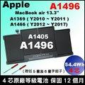 Apple 原廠等級電池 A1496 取代 A1405  MacBook Air13吋 MC965 MC966 MD231 MD232 A1369 A1466 容量更高MJVE2LL/ A ...