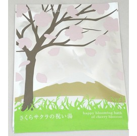【我家就是溫泉會館】日本進口 植物複方泡湯包-櫻花祈福湯