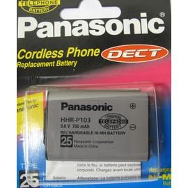 【原廠】國際牌 Panasonic DECT 電話專用電池HHR-P103 3.6V 700MA