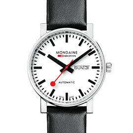 MONDAINE 瑞士國鐵經典機械錶/ 40mm 132311