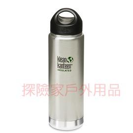 K20VWSSL~BS美國Klean kanteen可利鋼瓶不鏽鋼保溫寬口水瓶 原色鋼 2