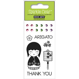 CL-308  Hero- 透明印章Arigato