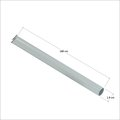 6分(1.9cm) x 180cm 白色鐵管 長管24967PH, (單位:支)