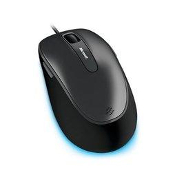 御泰  Microsoft 微軟 舒適滑鼠4500 銀黑 藍光技術 支援Win8